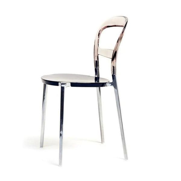 Krzesło Thalassa Alu Brown/Black