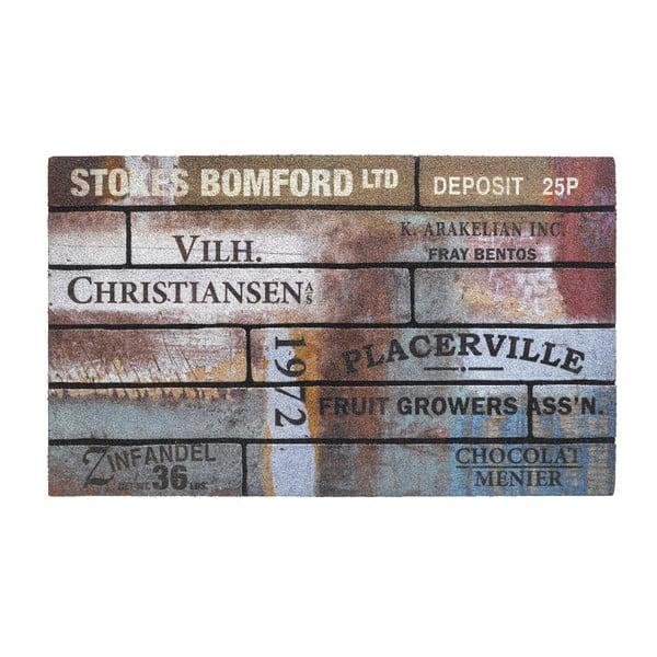 Wycieraczka Hamat Eco Scrapwood Vintage, 45x75 cm