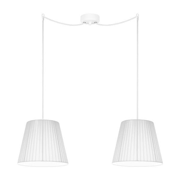 Biała lampa wisząca Sotto Luce KAMI Elementary S 2S