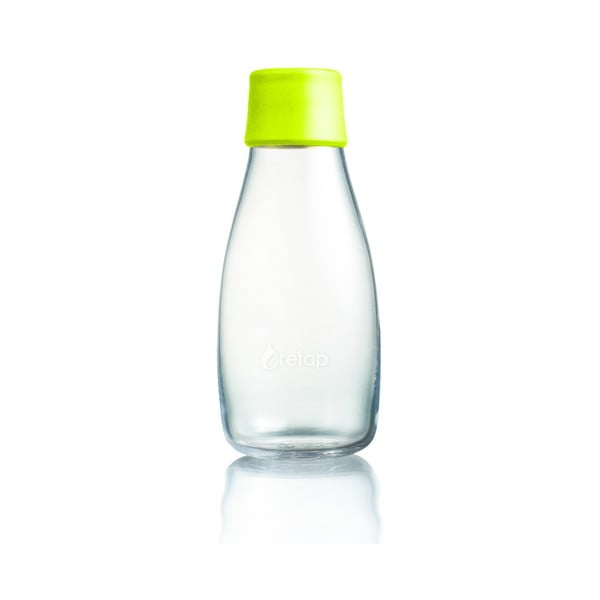 Limonkowa butelka ze szkła ReTap z dożywotnią gwarancją, 300 ml