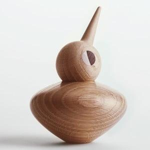 Jasna dekoracja w kształcie ptaszka z ruchomą główką Architectmade Bird Chubby