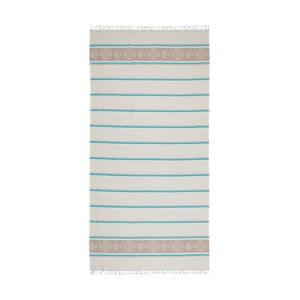 Ręcznik hammam Loincloth Fife Blue, 80x170 cm