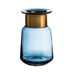 Niebieski flakon Denzzo Saulo, wysokość 21 cm