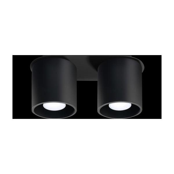 Czarna lampa sufitowa Nice Lamps Roda