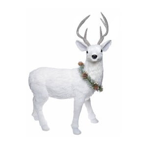Biała figurka renifera Ewax Ciervo, wys. 60cm