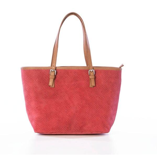 Skórzana torebka Girandola Orange