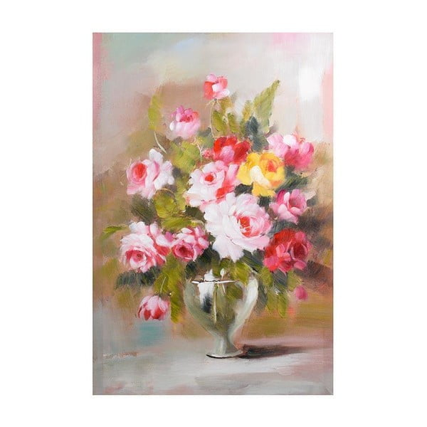 Obraz na płótnie Pink Flowers, 60x90 cm