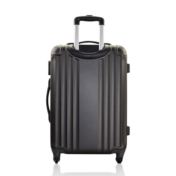 Komplet 3 walizek Valises Avec Line Black
