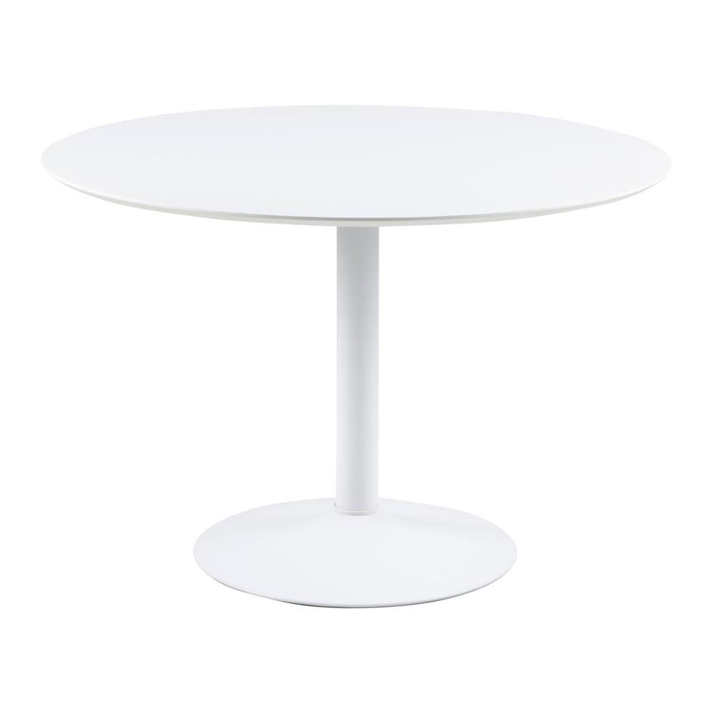 Biały okrągły stół Actona Ibiza, ⌀ 110 cm