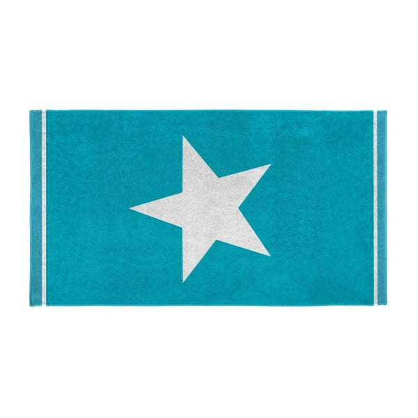 Ręcznik Star 100x180 cm, aqua