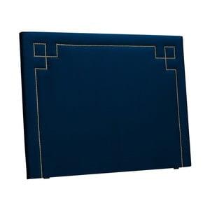 Ciemnoniebieski zagłówek łóżka THE CLASSIC LIVING Nicolas, 120x160 cm
