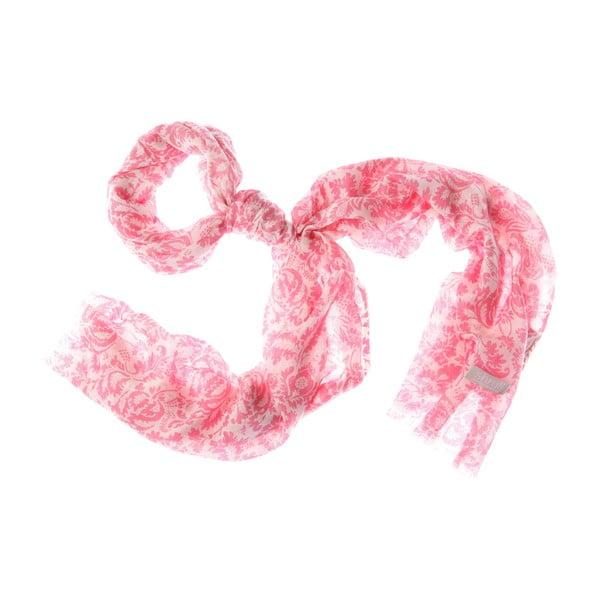 Szalik Smudge Pink, 180x55 cm