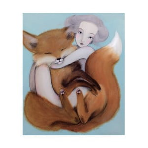 Autorski plakat Lény Brauner Lis, 50,2x60cm