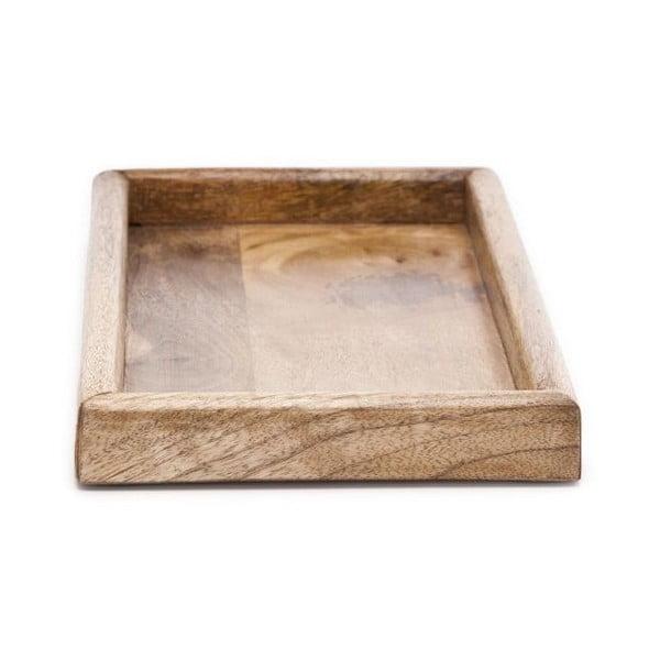 Taca drewniana ręcznie wykonana NORR11 Bubbles, 70x25 cm