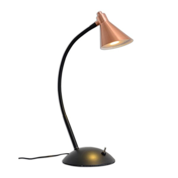 Lampa stołowa Copper Black