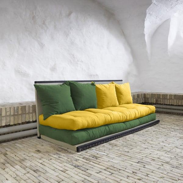 Sofa wielofunkcyjna Karup Chico Botella/Amarillo