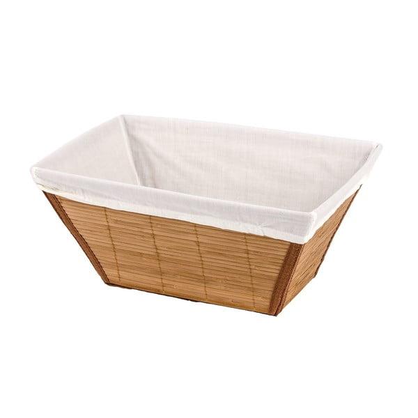 Bambusowy koszyk Wenko Bamboo, szer. 31 cm