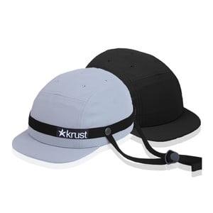 Kask rowerowy Krust grey/black/black z zapasową czapką, rozmiar M/L
