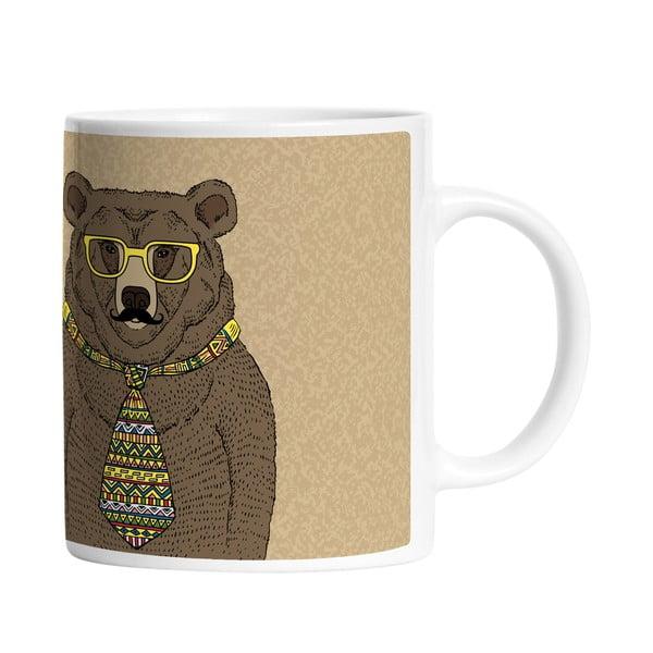 Ceramiczny kubek Smart Bear, 330 ml