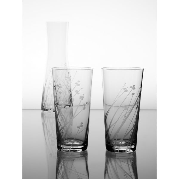 Karafka i 6 szklanek Len