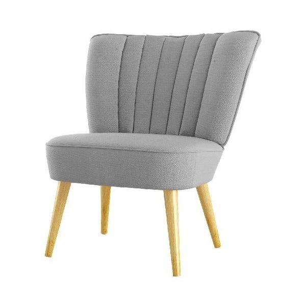 Fotel Angie, jasnoszary
