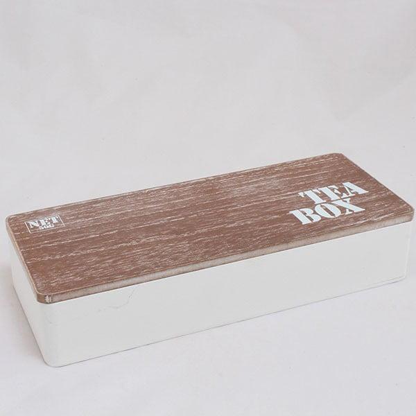 Drewniany pojemnik na herbatę Box