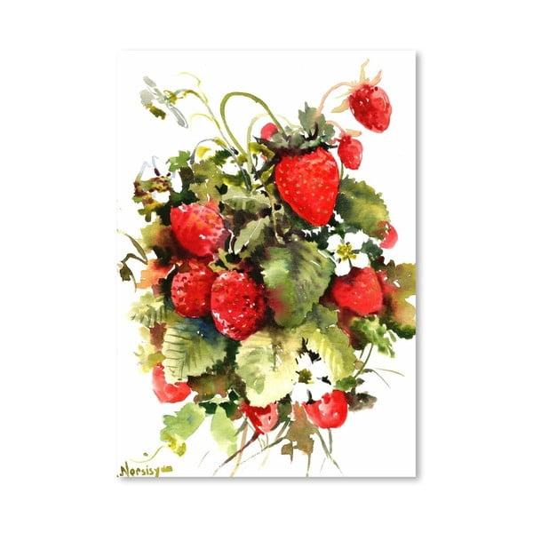Plakat Strawberries (projekt Suren Nersisyan)