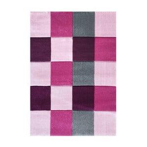 Różowy dywan dziecięcy Happy Rugs Patchwork, 120x180cm