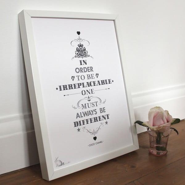 Plakat Coco Chanel, 30x40 cm