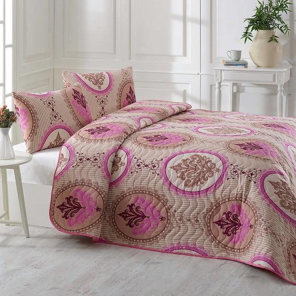 Narzuta i poszewki na poduszki Damas, 200x220 cm