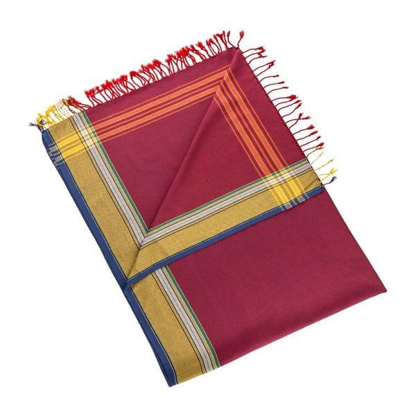 Ręcznik/pareo Uner Red, 100x178 cm