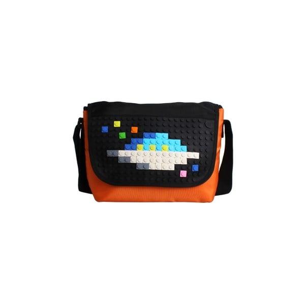 Pikselowa listonoszka, pomarańczowa/czarna