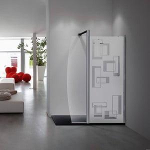 Naklejka Fanastick Douche Rectangles Design, 145x55 cm