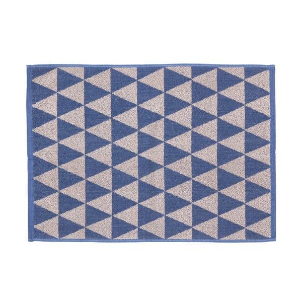 Komplet 2 beżowo-niebieskich ręczników Casa Di Bassi Simon, 50 x 70 cm