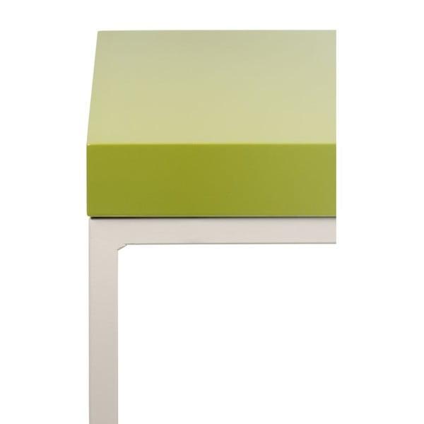 Stolik z zielonym blatem TemaHome Prairie