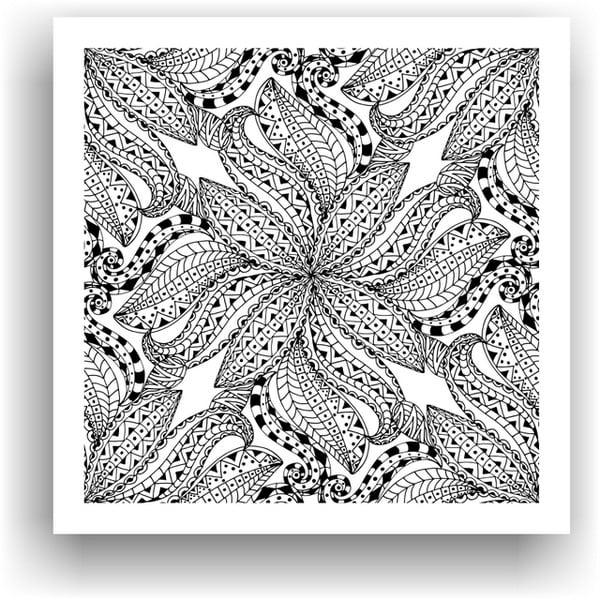 Obraz do kolorowania 92, 50x50 cm