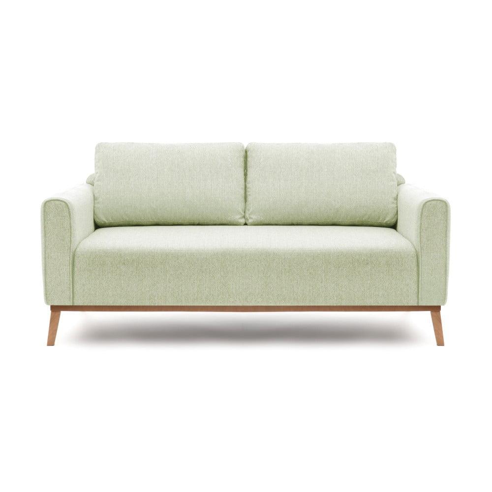 Miętowa sofa 3-osobowa Vivonita Milton