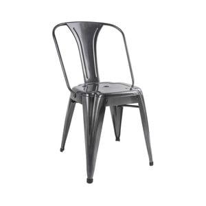 Szare krzesło Leitmotiv Dazzle