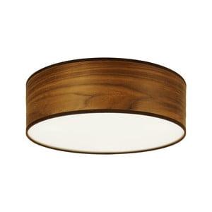 Lampa sufitowa w kolorze drewna orzechowego Sotto Luce TSURI,Ø30cm