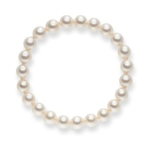 Biało-perłowa bransoletka Pearls of London Mystic, dł. 19 cm