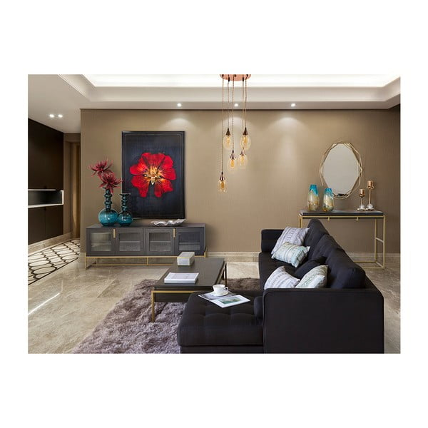 Wazon kryształowy Santiago Pons Andon, wys. 38 cm