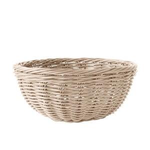 Koszyk na pieczywo, brązowy