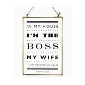Dekoracja zawieszana The Boss