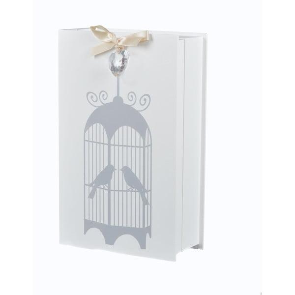 Drewniana szafka na klucze Ptasia klatka