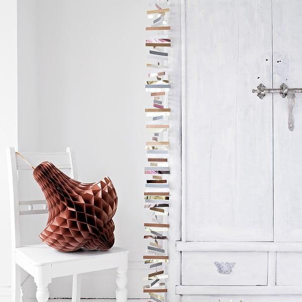 Papierowa dekoracja Giant Honeycomb Bronze XL