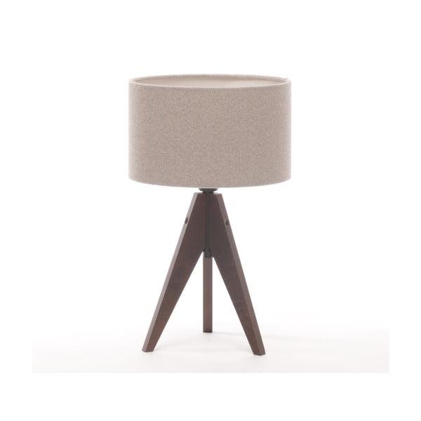 Lampa stołowa Artist Cylinder Brown Grey/Dark Brown