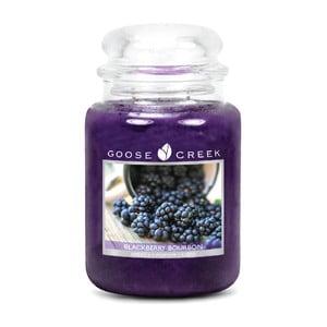 Świeczka zapachowa w szklanym pojemniku Goose Creek Bourbon z jeżyn, 0,68 kg
