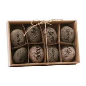 Kamienie dekoracyjne z napisami Spirit