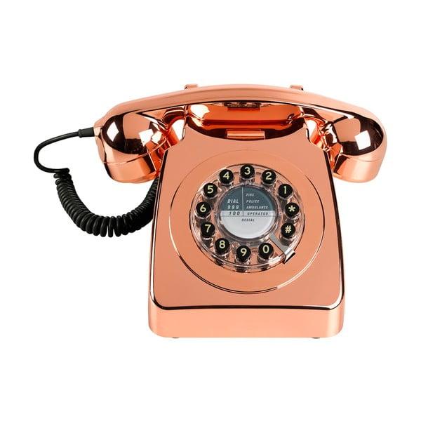 Telefon stacjonarny w stylu retro Serie 746 Copper