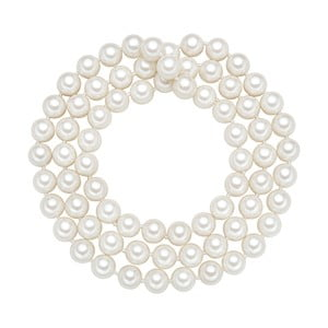 Naszyjnik z białych pereł ⌀ 10 mm Perldesse Muschel, długość 80 cm